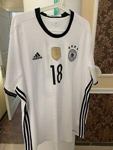 Trikot DFB Deutschland Nationalmannschaft Kroos Größe XXL