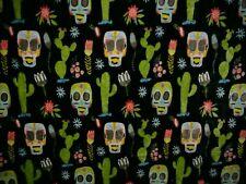 "Day Of The Dead Sugar Skulls 50"" X 80"" Silky Soft Fleece Blanket"