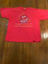 2005 OFFICIAL The Muppets Animal RED T SHIRT SIZE XL