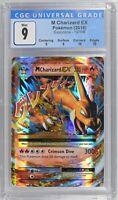 🔥 2016 Pokemon XY Evolution M Charizard EX 13/108 CGC 9 MINT (PSA/BGS)