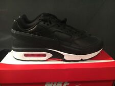 NIKE AIR MAX BW PREMIUM BLACK BRIGHT CRIMSON UK7. 819523-006