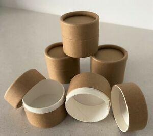 Zero Waste Cardboard 20mJar/Pot Suitable for Lipbalm, Salves, Deodorant and More