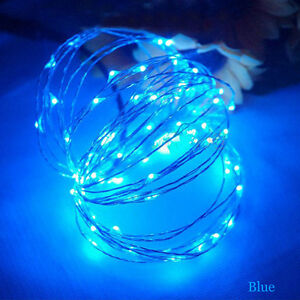 LED String Copper Wire Fairy Lights Battery USB 12V Xmas Party Fairy Decor Lamp