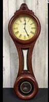 Westminster Whittington Quartz Pendulum Clock, Vintage, Condition Unknown Wooden