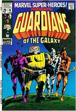 Marvel Super-Heroes #18 Reprint Cover Only 1st Guardians of the Galaxy