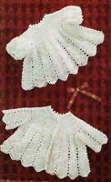Baby crochet pattern, Baby matinee coat, Angel top, dress, cardigan, baby girl.