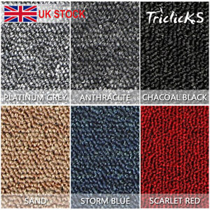 Carpet Tiles 5m2 / 10m2 Box Heavy Duty Commercial Retail Office Premium Flooring