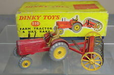 DINKY TOYS GIFT SET MODEL No.310 MASSEY HARRIS TRACTOR & HAY RAKE  N MIB