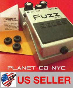 BOSS Guitar Pedal Grommet Upgrade Survival Kit Rubber O-Ring Bushing (3 Pack)
