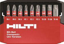 Hilti Impatto Trapano Set: PH1, PH2, PH3, PZ1, PZ2, PZ3, TX25, TX30, TX40