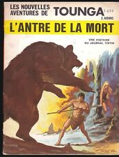 THE NEW ADVENTURES OF TOUNGA THE CAVE OF DEATH 1969 FRENCH COMIC TARZAN LIKE
