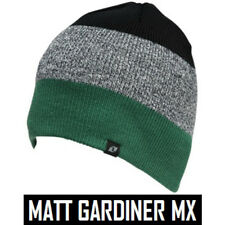 ONE INDUSTRIES T-MAC BEANIE HAT motocross mx GREEN one size