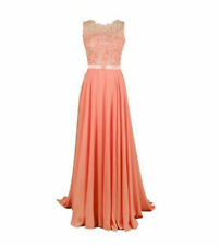 Long Chiffon Formal Gown Party Cocktail Evening Bridesmaid Dresses Size 6-28 New