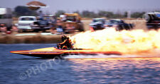 DRAG RACING DRAG BOAT PHOTO TOP FUEL HYDRO HIPPIE GEORGE FISHERS FEVER 1980