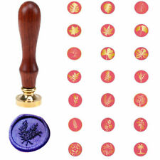 Plant Flower Seal Wax Stamp Christmas Party Wedding Invitation Greeting Card
