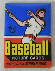 1977 Topps Baseball Complete Sealed Wax Pack BC3198