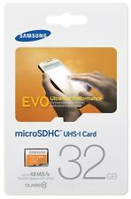 Micro sd SDHC Samsung Evo  32 gb avec adaptateur  class 10