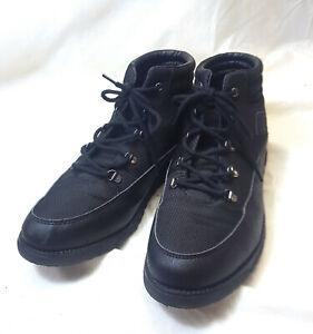 COLE HAAN ZEROGRAND Hiker Boots Shoes Big Boys size 6 black