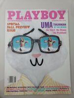 PLAYBOY MAGAZINE September 1996 SPECIAL FALL PREVIEW! UMA THURMAN NUDE!