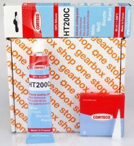 CORTECO HT200C Carter Humide / Culasse Housse Blanc Silicone Joint Pâte 200° C.