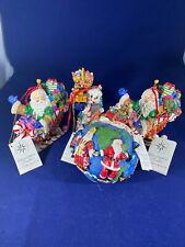 Lot Of 4 Christopher Radko Resin Ornaments Marshall Fields 2001-02