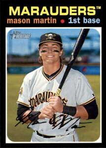 2020 Topps Heritage Minors #38 Mason Martin  Bradenton Marauders Baseball