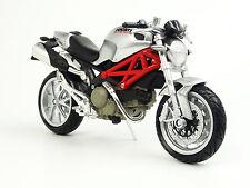 Modellmotorrad Ducati Monster 1100 silber 1:12 Motorrad Modell scale bike model