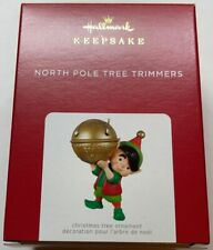 Hallmark 2021 North Pole Tree Trimmers Christmas Ornament New with Box