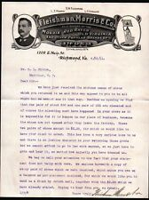 1911 Fleishman Morris & Co - Red Raven Old Virginia Shoes - Richmond Letter Head