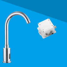 Infrarouge automatique du capteur robinet main libre eau froide navire évier bassin robinets