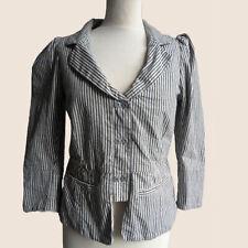 Noa Noa Damen Sakko Jacke Blazer Anzug Gr.M (DE 38) Chelsea Stripe, 70683