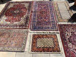 Indo Täbriz Teppich Carpet Rug Orient Art Antik Perser Kunst Vintage Konvolut