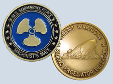 Submarine Rate MM Machinist's Mate Insignia Commemorative Coin