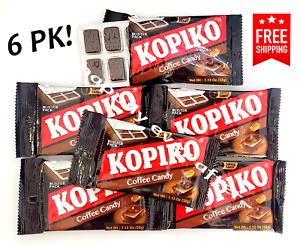 6 PK Kopiko Coffee Candy - Blister PK Hard Coffee Candy *US SELLER & FREE SHIP*