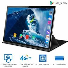4G LTE 2 in 1 Tablet PC 11.6 inch Tablet Laptop With Keyboard Dual SIM card