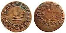 Spain-Felipe IV. FALSA DE EPOCA. 16 Maravedis. Sevilla. Cobre 3,9 g. ESCASA