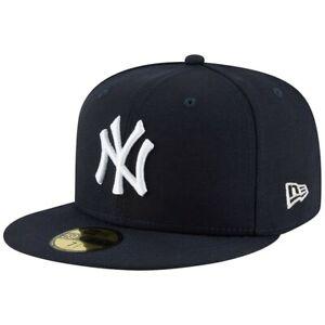 NEW ERA 59FIFTY 7 3/8 NEW YORK YANKEES, BASIC CAP, BLACK,  BRAND NEW.