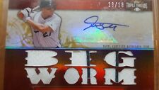 2011 MIKE(GIANCARLO)STANTON TOPPS TRIPLE THREADS Auto Game Used