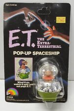 E.T. The Extra Terrestrial LJN Toys vintage Pop Up Spaceship NIP figure