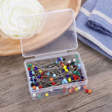 250pcs Sewing Pins Ball Glass Head Pins Straight Quilting Pins DIY Crafts US