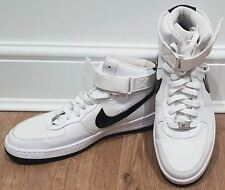5f0b0fde42e2 NIKE Women s White AF1 AIR FORCE ONE Hi Tops Sneakers Trainers US9.5 UK7