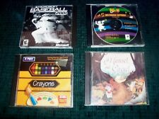 Kid's Games & Story-Hansel & Gretel- Crayons-Multimedi Software-Baseball-Windows