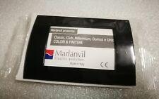 PLACCA 3 FORI MARLANVIL SERIE CLASSIC NERO LUCIDO 7833.T.NL