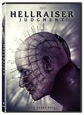 HELLRAISER JUDGEMENT (NEW MOVIE IN HELLRAISER SAGA PIN HEAD) 2018 RELEASE DVD R1