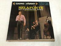 LP HARRY BELAFONTE AT CARNEGIE HALL VINYL 2LP RCA VINTAGE