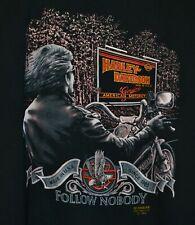 Harley Davidson Vintage 3D Emblem T-Shirt Size XL 1989 1980s 80s