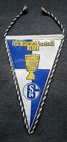 *RAR* Wimpel FC Schalke 04 DFB Pokalsieger 1972 Pennant S04 1.Bundesliga Knappen