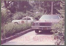Vintage Car Photo 1978 Oldsmobile Toronado Olds & Police in Glendale 696489