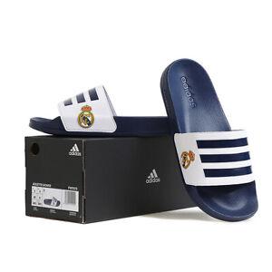 Adidas Adilette Shower Real Madrid Slides Sandals Slipper Navy/White FW7073