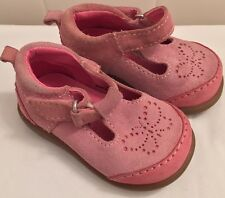 babyGap Shoes Toddler Pink Rose Mary Jane Size 3 Pink Suede Children's Kids